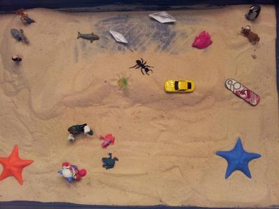 Kinetic Drawing for Sandtray Therapy Class- J.