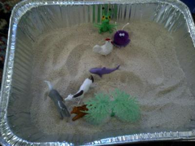 Sand Tray Therapy Technique: Tray #2