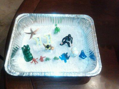 A sand tray therapy experience