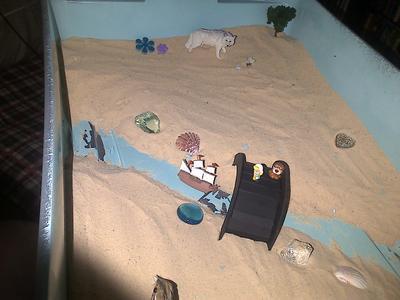 Sand Tray Therapy Bridge 2
