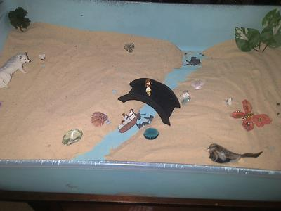 Sand Tray Therapy Bridge 4