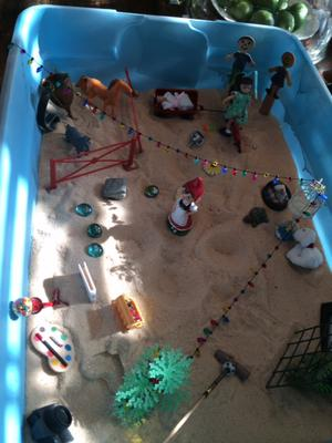 Sand Tray Therapy Childhood Activity Student 1