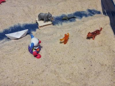 Sand Tray Therapy Class: Bridge Assignment - Jonathan V., Mercer Univ. Student, Summer 2013, picture 3