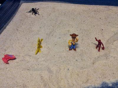 Sand Tray Therapy Class: Bridge Assignment - Jonathan V., Mercer Univ. Student, Summer 2013, picture 4