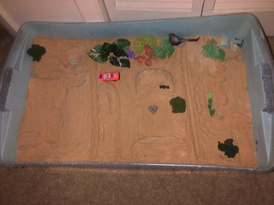 Sand Tray Therapy Class Childhood Tray