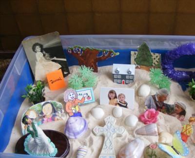 Sand Tray Therapy Class Final, Theory, Student # 2, Martha Picture 4