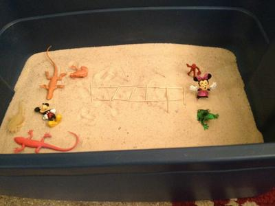 sandtray: Sand Tray Therapy Class: My Bridge-#4