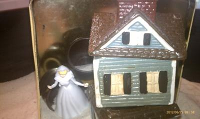 House within a house - hidden rooms Sand Tray Therapy - Dream Analysis Sand Tray S.B.