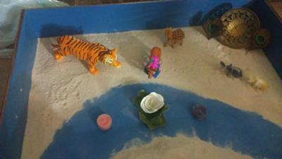 Sand Tray Therapy Miniatures: Hindu Symbols of India