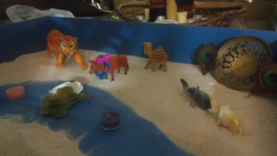 Sand Tray Therapy Miniatures: Hindu Symbols of India #3