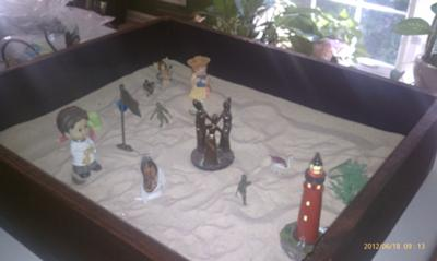 Sand Tray Therapy - My Extended Sand Tray #4