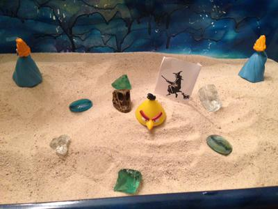 Sand Tray Therapy Project: Dark Parts of Self