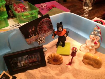3: Sand Tray Therapy Real Colors Personality Tray