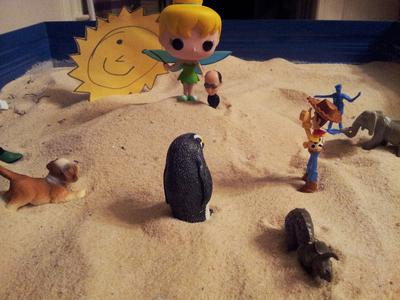 Sand Tray Therapy: Final Part I - J.
