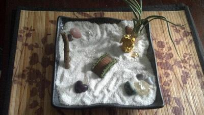 Sand Tray Therapy Student #5, 5/30