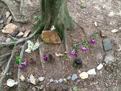 Nature Outdoor Sand Tray Therapy 3