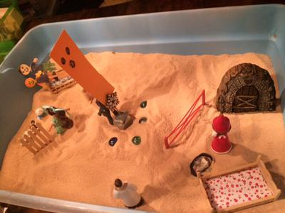 Dream Analysis Sand Tray Therapy #2 Example