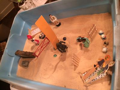 Dream Analysis Sand Tray Therapy #3 Example
