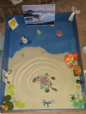 First Day Extended Sand Tray Therapy Technique