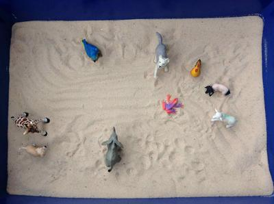 Sandtray Therapy Class Assignment: Extended Sandtray  Therapy Journal, Student #1