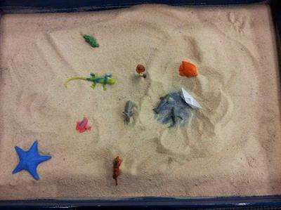 Sandtray Therapy Class: Client Interpretation #1, Student #1