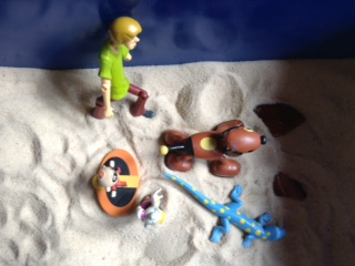 Sandtray Therapy Final: Family Story Lesson plan, Student #1 , Picture One