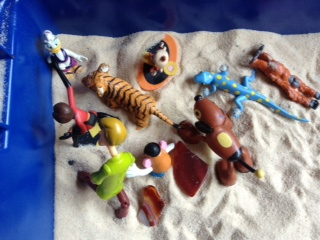 Sandtray Therapy Final: Family Story Lesson plan, Student #1 , Picture Four
