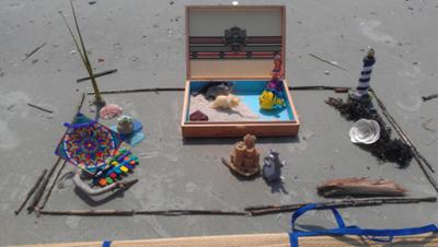 Picture 2 Hinduism Sand Tray Therapy