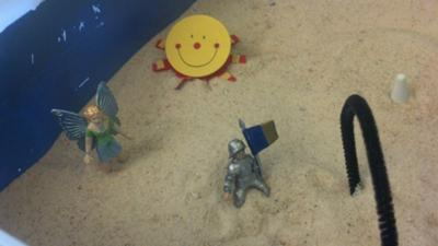 Sarah's Anger Management Sand Tray Therapy Picture 2