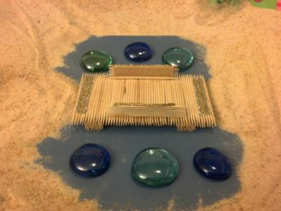 Sand Tray Therapy Bridge Sand Tray, #2