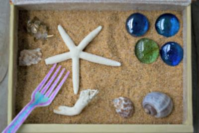 Sand Tray Therapy / School Counseling Zen Garden