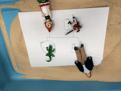Sand Tray Therapy Genogram Student #1