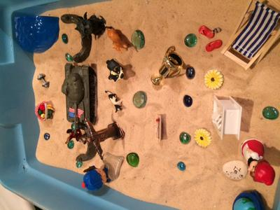 Maslow's Hierarchy Sand Tray 2014