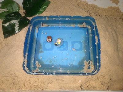 Extended Sand Tray for my Sand Tray Therapy Class