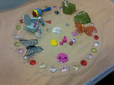 Student 4: Sand Tray Therapy Class Mandala