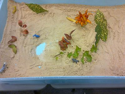 Sand Tray Therapy / Sand Tray World Tray 2