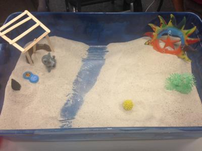 Student 5: House, Tree, Person in the Sand Tray for Sand Tray Therapy Class