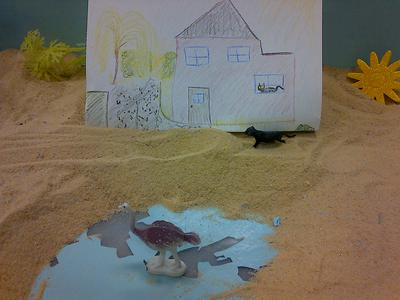 #2 House, Tree, Person Sand Tray Therapy Activity
