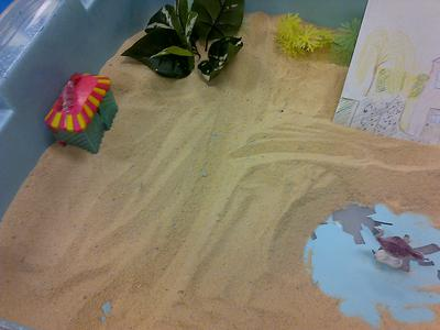 #3 House, Tree, Person Sand Tray Therapy Activity