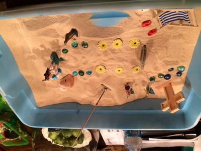 transitional objects sand tray for sand tray therapy class