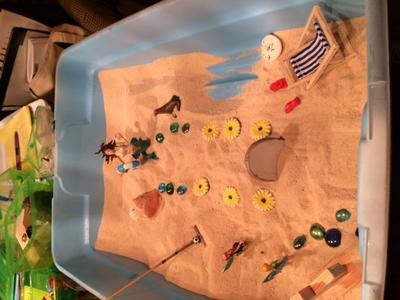 Transitional Objects Sand Tray Therapy Activity