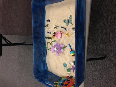 Transitional Objects for Sand Tray Therapy Class Student 5
