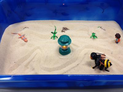 Dream Analysis Sand Tray Therapy  Activity: Student 2