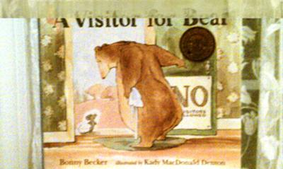Bibliotherapy in Play Therapy Activity: A Visitor for Bear