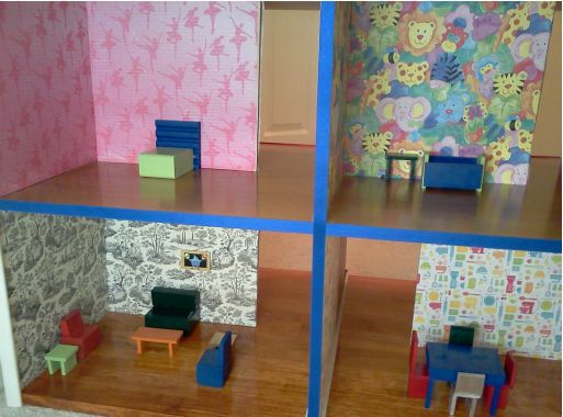 play therapy doll house examples