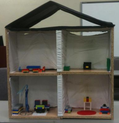 Play Therapy Student's Doll House Play Therapy Technique / Doll House Play Therapy Activity