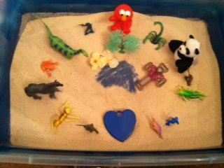 Dream Analysis Sand Tray Therapy -Student #5
