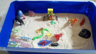 Beginning Sand Tray for Extended Sand Tray Therapy