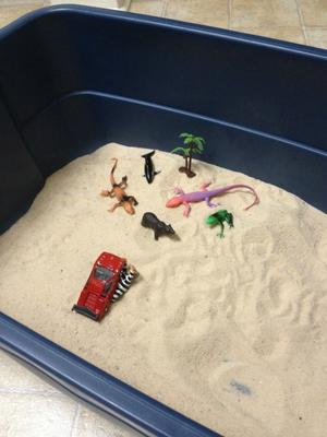 Day 5 of 7 Student #4 for Sand Tray Therapy Class