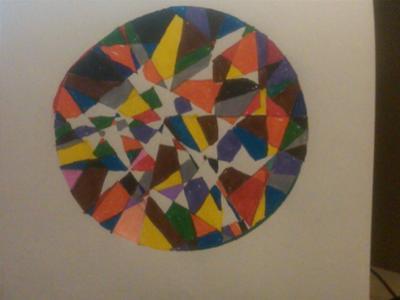 Vivid Dream Mandala for Play Therapy